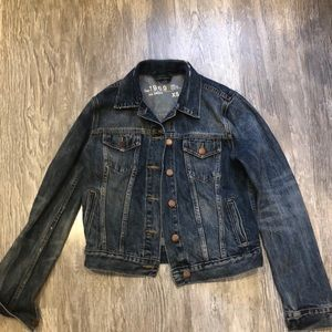 Vintage gap Jean jacket size extra small